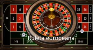 ruleta europeana
